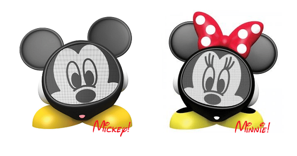 Sing Along with Mickey and Minnie With these Adorable Speakers