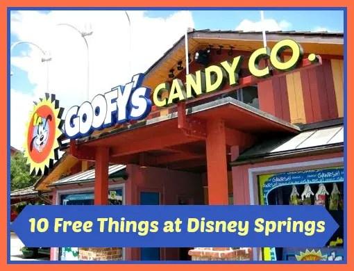 10 Free Things at Disney Springs
