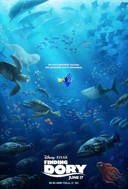 Pixar's Finding Dory Movie Review
