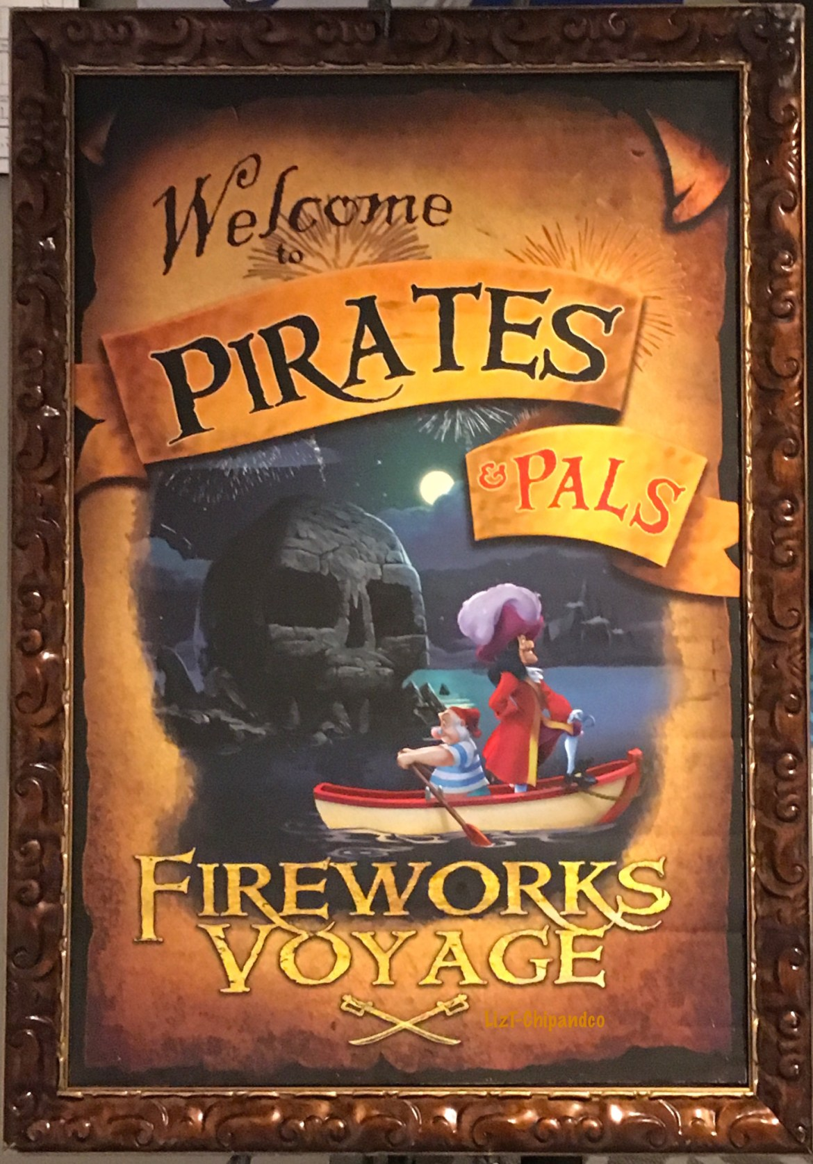 Take a Pirates and Pals Fireworks Cruise at Walt Disney World