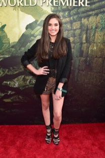 """HOLLYWOOD, CALIFORNIA - APRIL 04: Actress Ronni Hawk attends The World Premiere of Disney's """"THE JUNGLE BOOK"""" at the El Capitan Theatre on April 4, 2016 in Hollywood, California. (Photo by Alberto E. Rodriguez/Getty Images for Disney) *** Local Caption *** Ronni Hawk"""