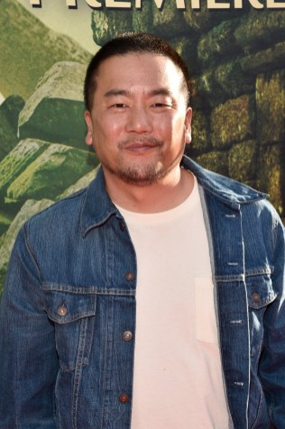 """HOLLYWOOD, CALIFORNIA - APRIL 04: Chef Roy Choi attends The World Premiere of Disney's """"THE JUNGLE BOOK"""" at the El Capitan Theatre on April 4, 2016 in Hollywood, California. (Photo by Alberto E. Rodriguez/Getty Images for Disney) *** Local Caption *** Roy Choi"""