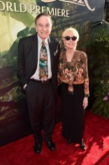 """HOLLYWOOD, CALIFORNIA - APRIL 04: Composer Richard Sherman (L) and Elizabeth Sherman attend The World Premiere of Disney's """"THE JUNGLE BOOK"""" at the El Capitan Theatre on April 4, 2016 in Hollywood, California. (Photo by Alberto E. Rodriguez/Getty Images for Disney) *** Local Caption *** Richard Sherman; Elizabeth Sherman"""