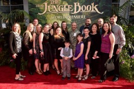 """HOLLYWOOD, CALIFORNIA - APRIL 04: The National Honey Board attends The World Premiere of Disney's """"THE JUNGLE BOOK"""" at the El Capitan Theatre on April 4, 2016 in Hollywood, California. (Photo by Alberto E. Rodriguez/Getty Images for Disney)"""