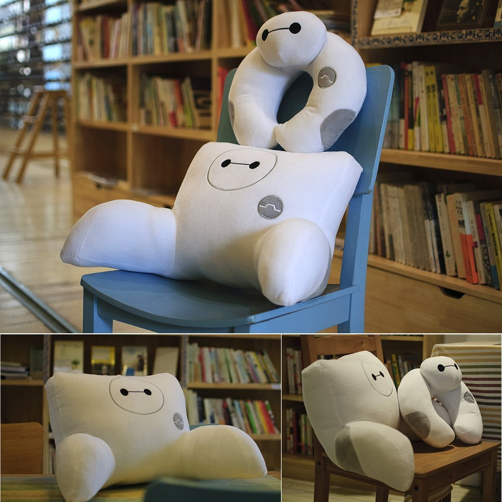Get Ready for Baymax Cuddle Time with These Fun Pillows