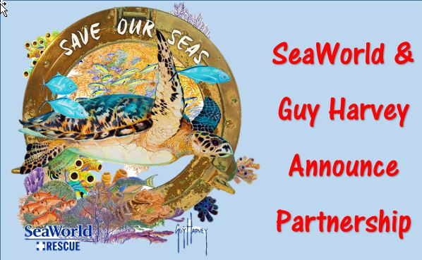 SeaWorld Partners with Guy Harvey