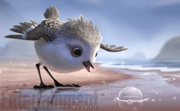 "First Glimpse of Pixar's Newest Short ""Piper"""