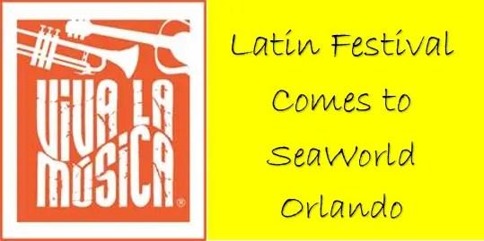 SeaWorld's Viva La Musica Heats Up Orlando