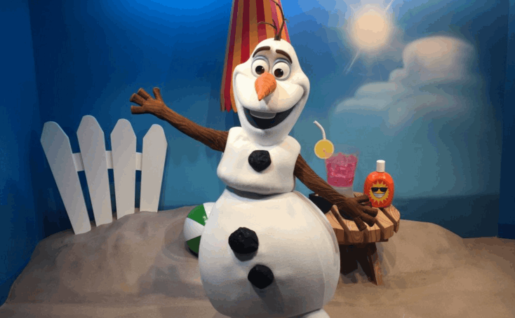 Olaf Meet & Greet now open at Disney's Hollywood Studios