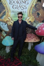 """Johnny Depp arrives at The US Premiere of Disney's """"Alice Through the Looking Glass"""" at the El Capitan Theater in Los Angeles, CA on Monday, May 23, 2016. .(Photo: Alex J. Berliner/ABImages)"""