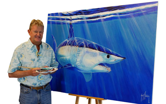 Guy Harvey To Paint Mural At SeaWorld Orlando's Shark Wreck Reef