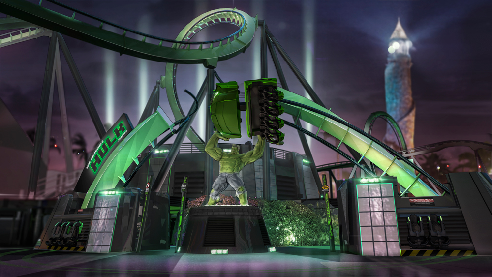Introducing the new Incredible Hulk Coaster at Universal's Islands of Adventure