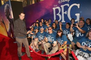 """HOLLYWOOD, CA - JUNE 21: Actor Bill Hader arrives on the red carpet for the US premiere of Disney's """"The BFG,"""" directed and produced by Steven Spielberg. A giant sized crowd lined the streets of Hollywood Boulevard to see stars arrive at the El Capitan Theatre. """"The BFG"""" opens in U.S. theaters on July 1, 2016, the year that marks the 100th anniversary of Dahl's birth, at the El Capitan Theatre on June 21, 2016 in Hollywood, California. (Photo by Jesse Grant/Getty Images for Disney) *** Local Caption *** Bill Hader"""