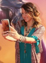 """HOLLYWOOD, CA - JUNE 21: Actress Joely Fisher arrives on the red carpet for the US premiere of Disney's """"The BFG,"""" directed and produced by Steven Spielberg. A giant sized crowd lined the streets of Hollywood Boulevard to see stars arrive at the El Capitan Theatre. """"The BFG"""" opens in U.S. theaters on July 1, 2016, the year that marks the 100th anniversary of Dahl's birth, at the El Capitan Theatre on June 21, 2016 in Hollywood, California. (Photo by Jesse Grant/Getty Images for Disney) *** Local Caption *** Joely Fisher"""