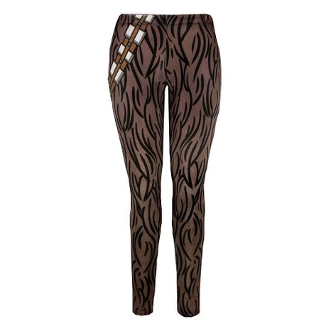 Dress Like a Wookie with Chewbacca Leggings