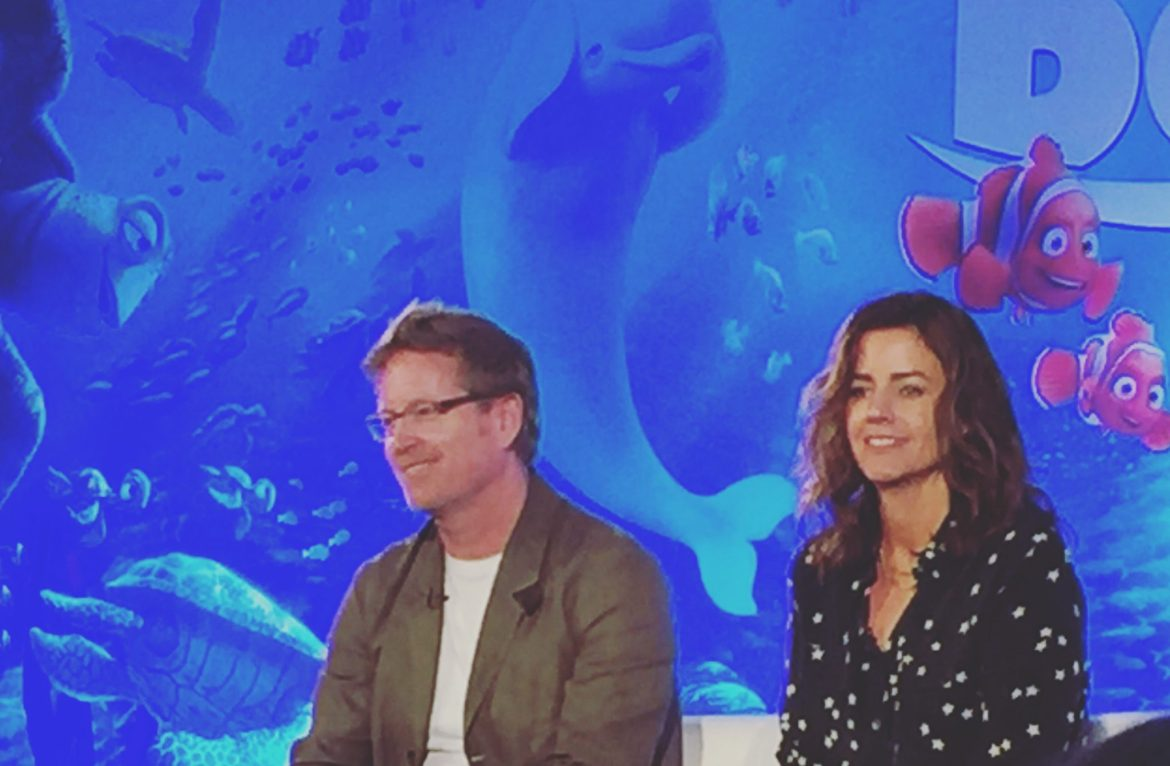Finding Dory Press Conference – Part 1