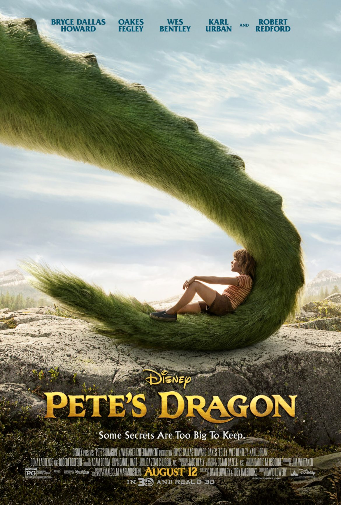 All new Pete's Dragon Poster Revealed