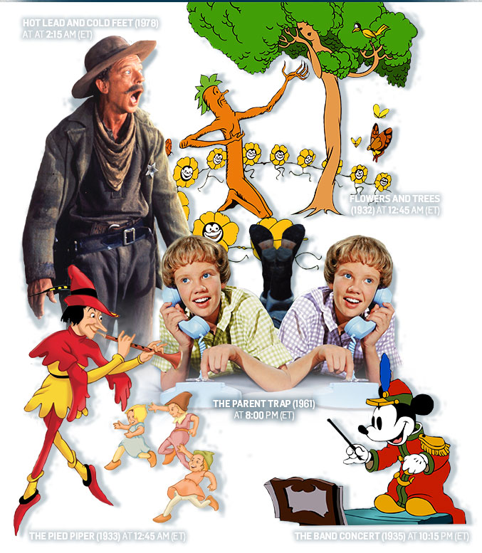 Schedule Released for TCM's Next Treasures From The Disney Vault
