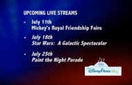 Disney Live Streaming Every Week in the Month of July!