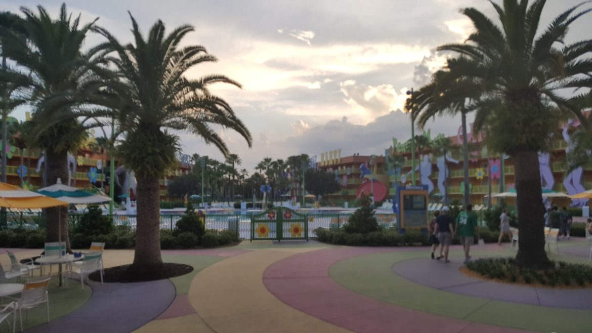 Man arrested at Disney's Pop Century Resort for groping young boys