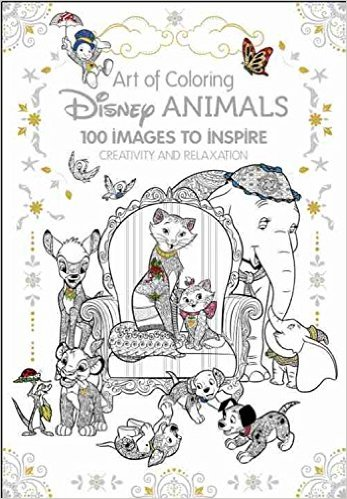 Art of Coloring: Disney Animals Coloring Book is Available Now