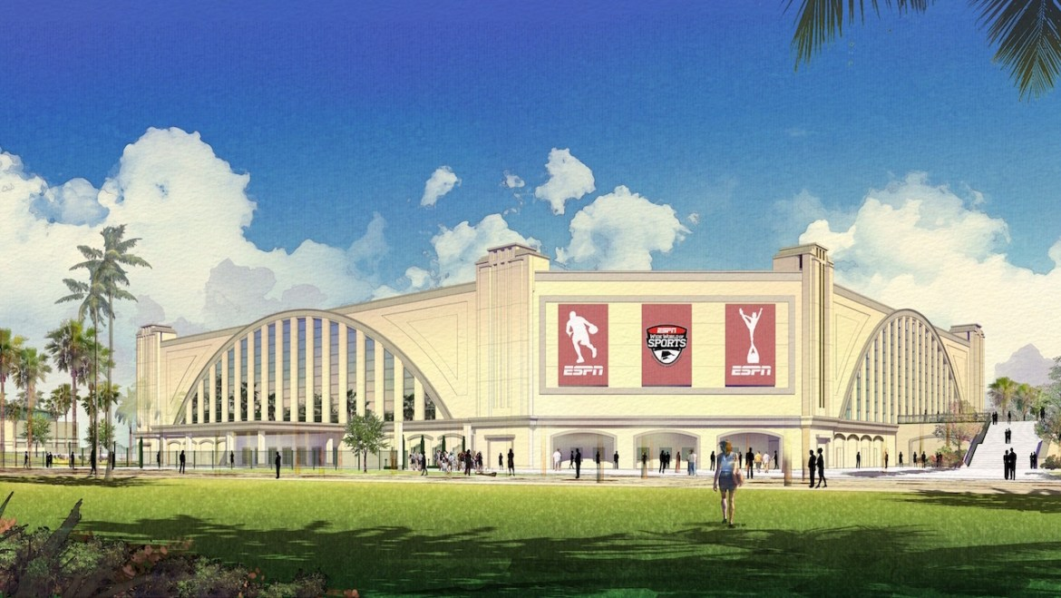 The New Venue at ESPN Wide World of Sports Complex will Focus on Cheer and Dance Events