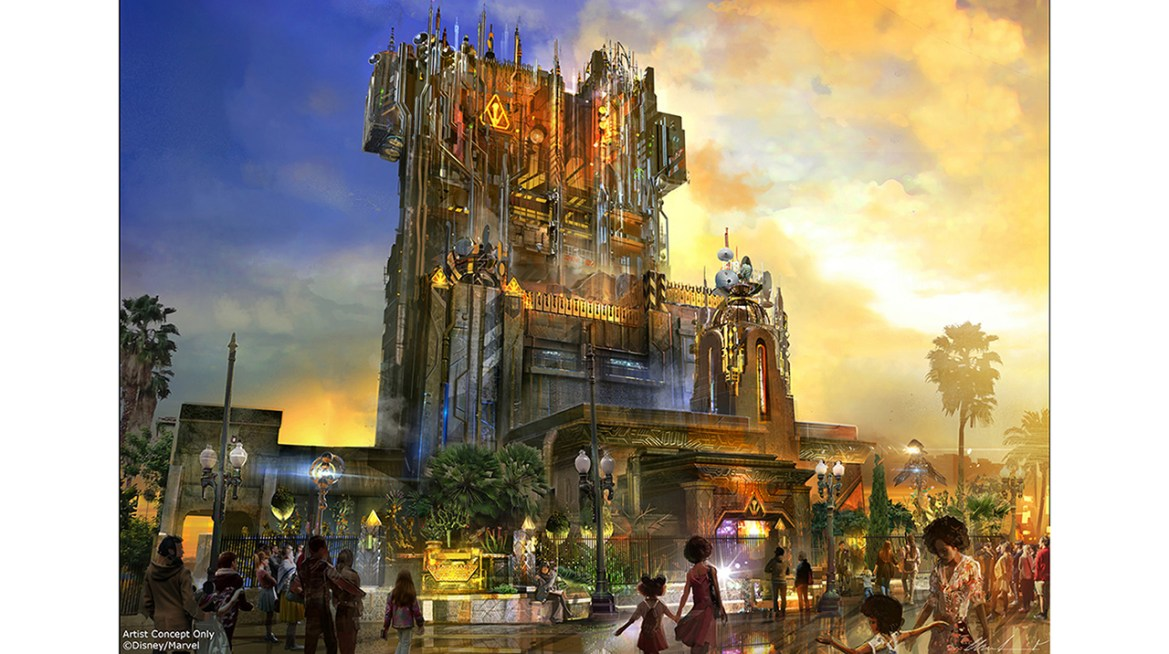 Guardians of the Galaxy – Mission: BREAKOUT! Coming to Disney California Adventure in Summer 2017