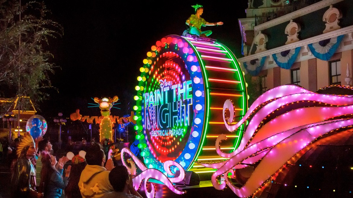 """""""Paint the Night"""" Parade Streaming Live from Disneyland Park on July 25th"""
