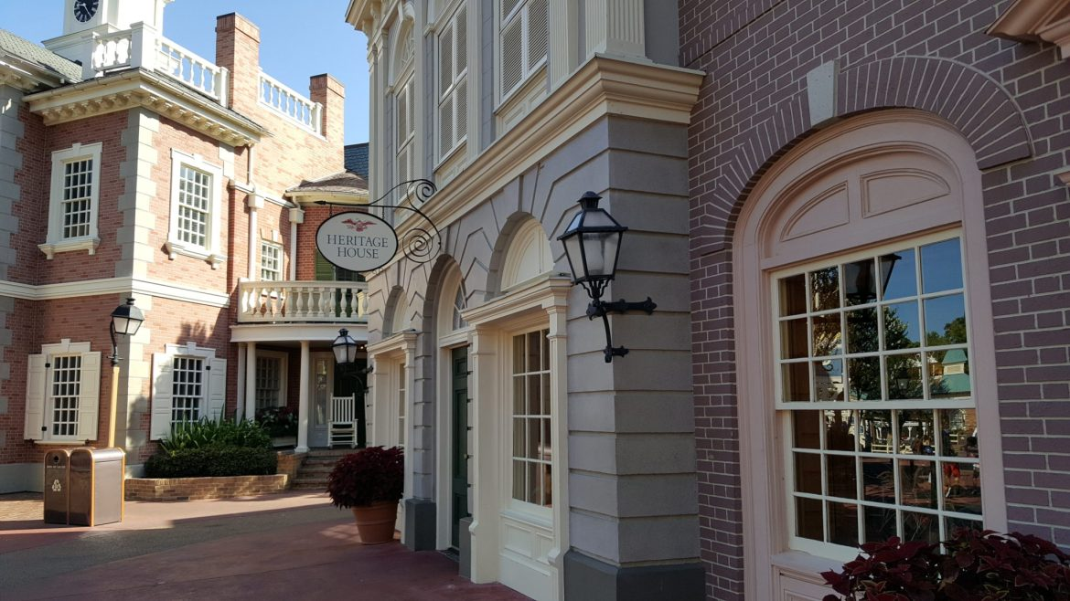 Belle Meet & Greet at Heritage House in the Magic Kingdom for a limited time