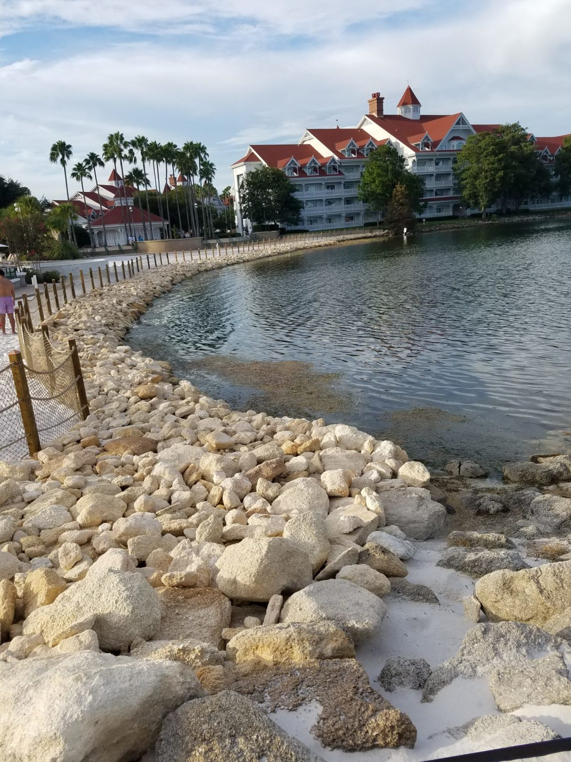 From Sand to Rocks: Changes to Grand Floridian Shoreline