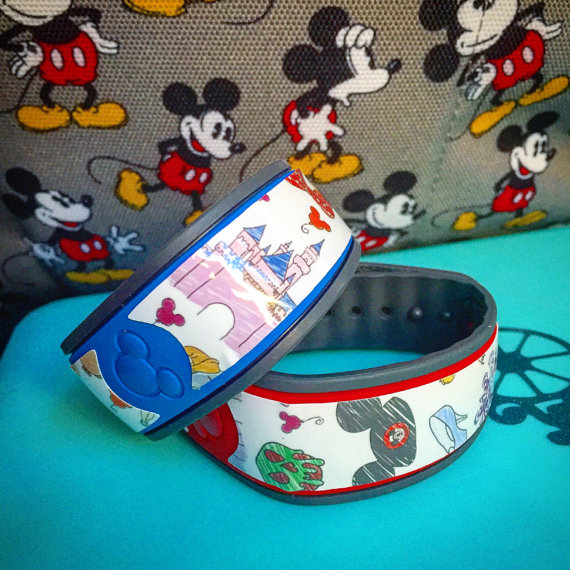These Designer Inspired MagicBand Decals Are Fabulous