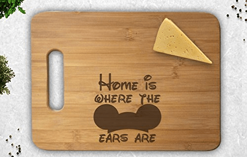 Chop it Like it's Hot with a Mickey Mouse Cutting Board