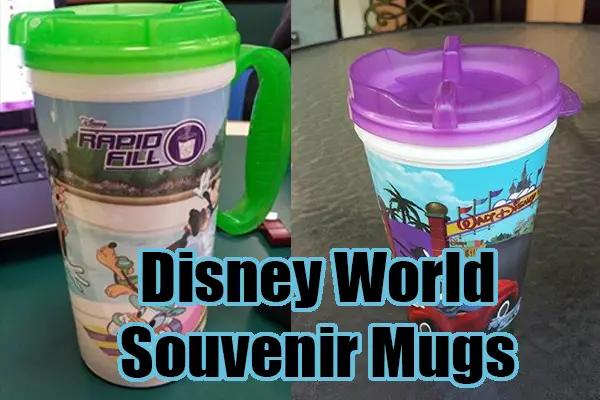 Handles have Returned on Resort Refillable Mugs