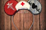 Nurse Themed Mickey Ears for The Nurses that Love Disney
