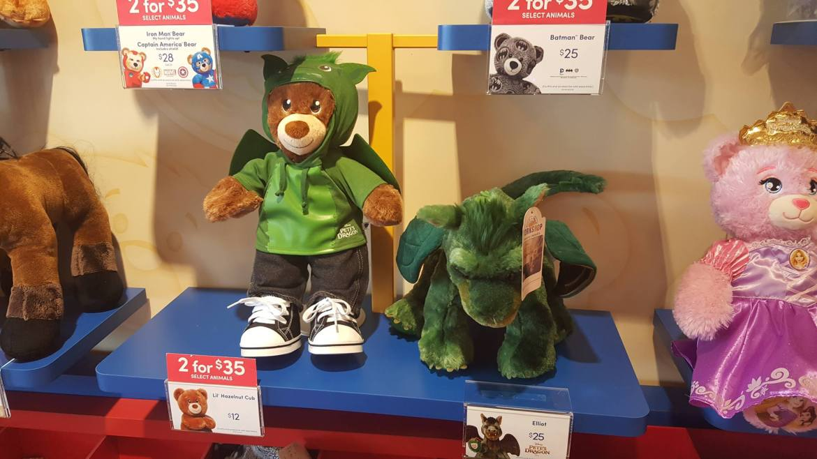 Go Wild With Pete's Dragon at Build-A-Bear Workshops