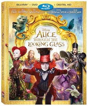 "Disney Announces  ""Alice Through The Looking Glass"" Digital HD And Blu-Ray Release Date"