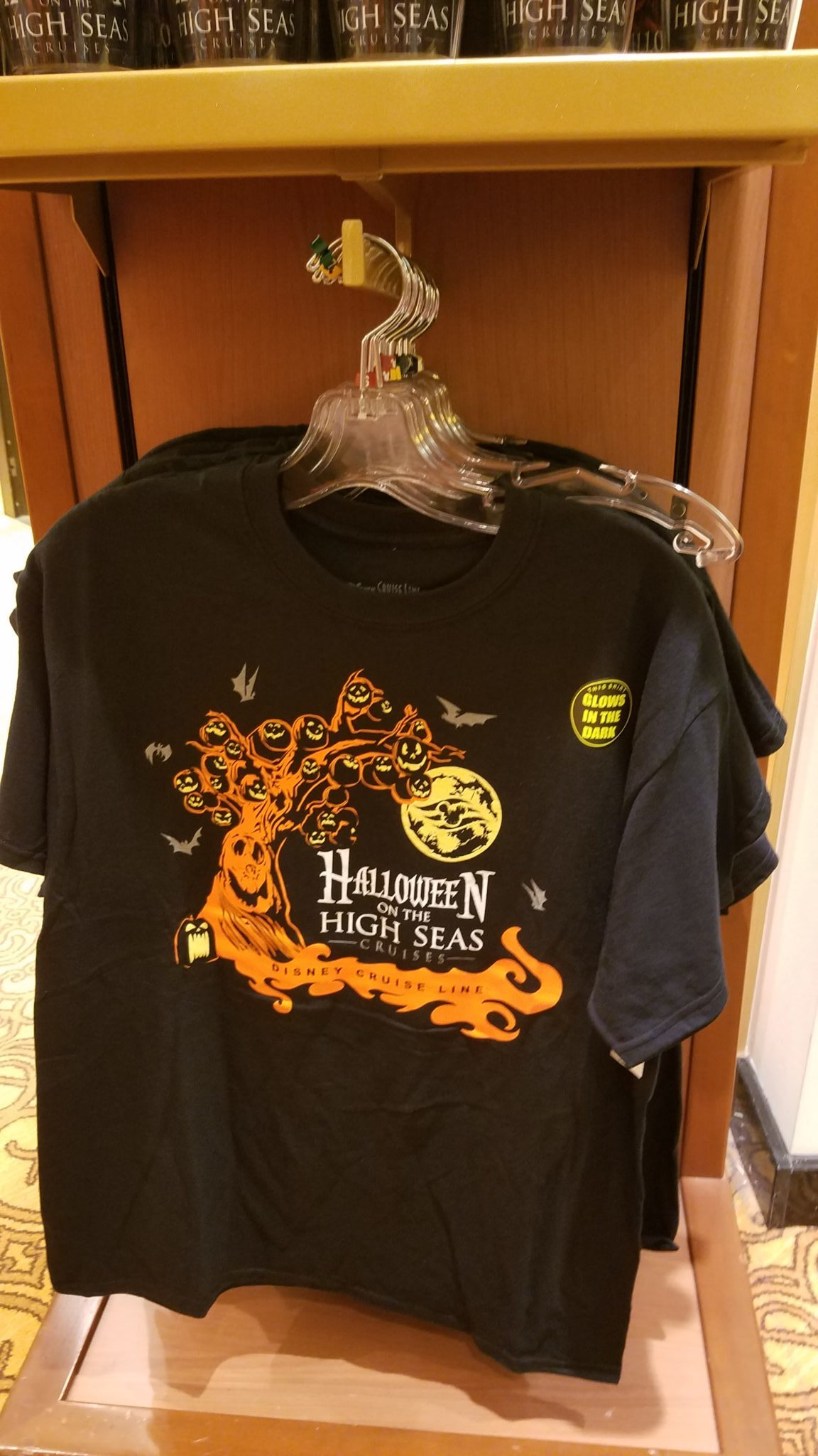 New Halloween on the High Seas Merchandise Showing up on Disney Cruise Line
