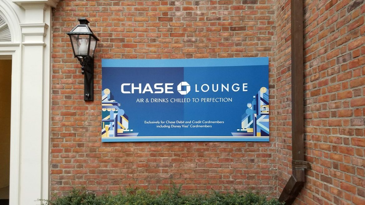 Relax and Unwind in the Chase Lounge at Epcot's Food & Wine Festival