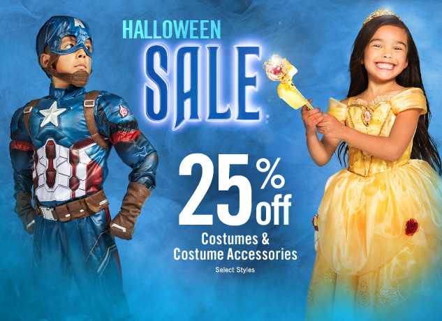 What a Treat! Disney Store Halloween Costumes on Sale!