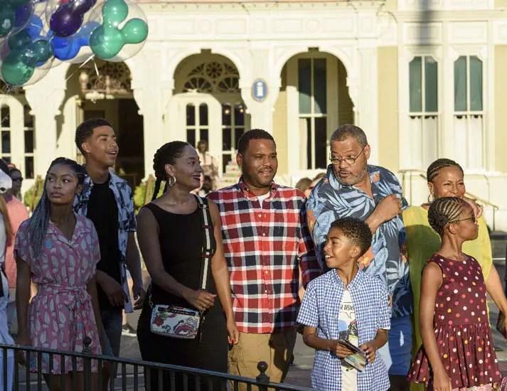 The gang from ABC's black-ish visit Walt Disney World