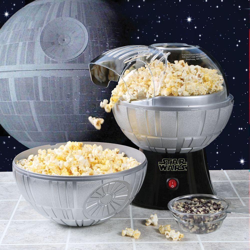 Galactic Snack Time with the Death Star Popcorn Maker