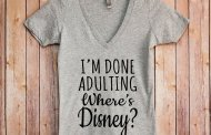 Absolutely Darling I'm Done Adulting, Where's Disney Tee