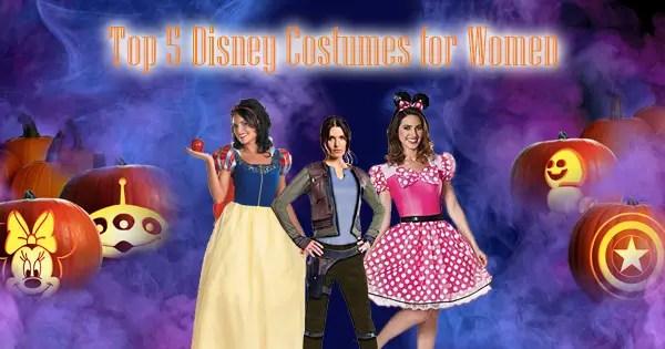Top 5 Disney Costumes for Women This Halloween Season