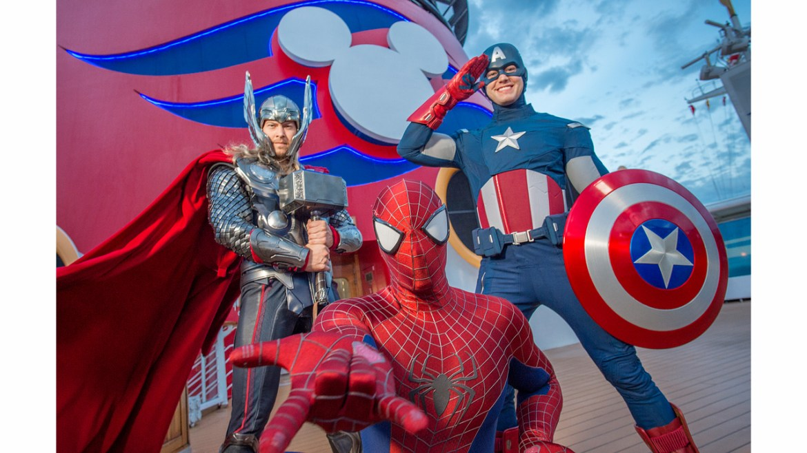 """Set Sail With Your Favorite """"Marvel"""" and """"Star Wars"""" Heroes Aboard Disney Cruise Line"""