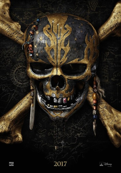 """Poster And Teaser Announcement For """"Pirates Of The Caribbean: Dead Men Tell No Tales"""""""
