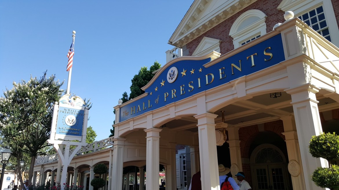 Donald Trump is coming soon to Disney's Hall of Presidents