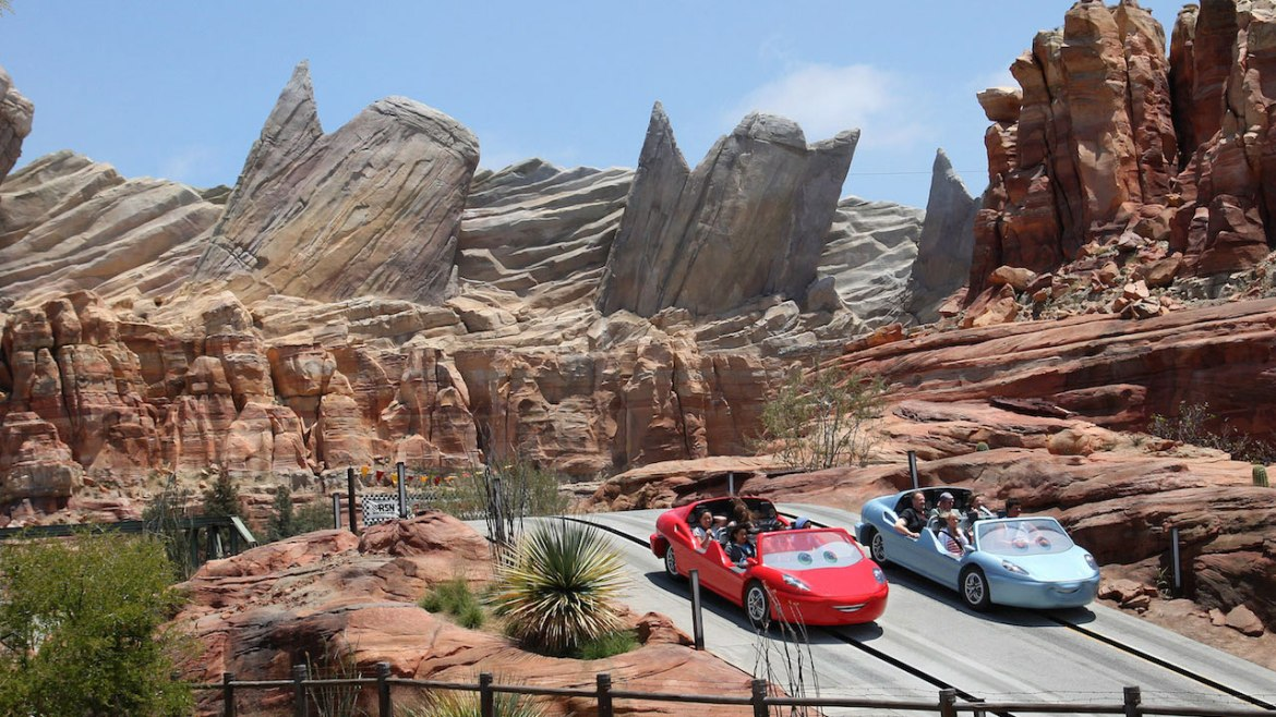 Solar Panels Added to Cars Land Attraction at Disney California Adventure Park