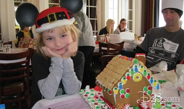 Exclusive Gingerbread House Workshop for D23 Members at Disneyland Resort