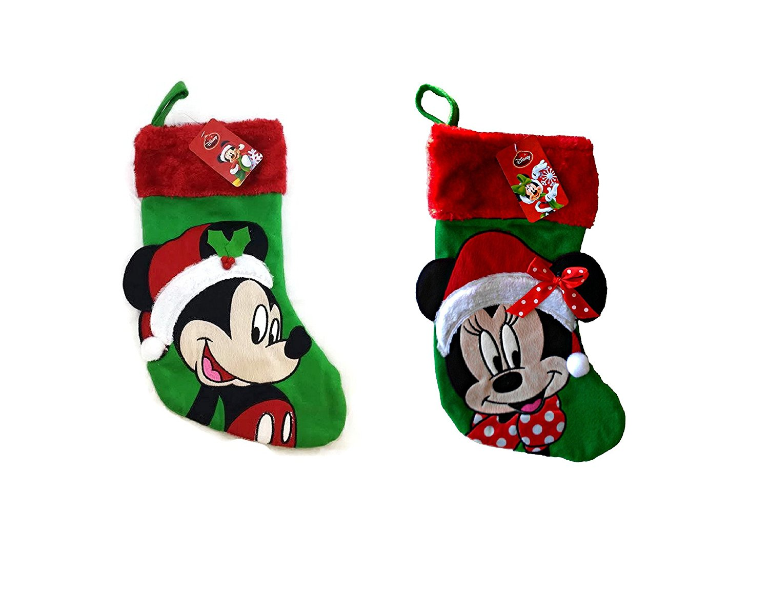 This Disney Christmas Stocking Pair is Sweeter than Sugar Plums ...
