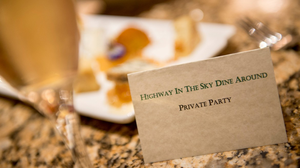 """New """"Highway in the Sky Dine Around"""" Experience at Walt Disney World Begins December 2nd"""